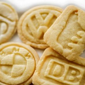 Geprägte Kekse