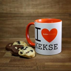 I Love Kekse Tasse
