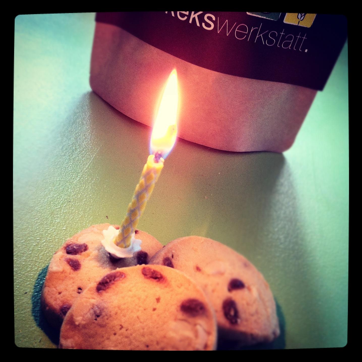 Happy Birthday Kekswerkstatt